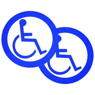 CE-714 Handicap ADA Logo Decal