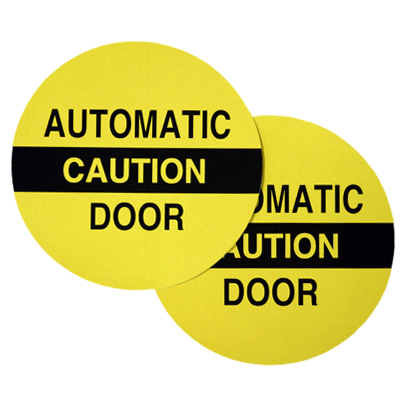 CE-715 Caution Automatic Door