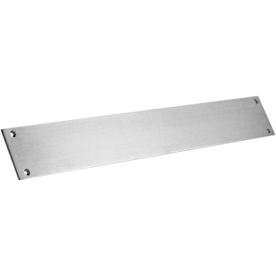 "CE-832-4 Push Bar 1/4"" X 4"" Stainless Steel"
