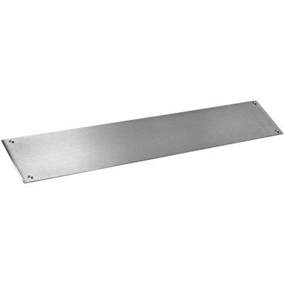 "CE-832-6 Push Bar 1/4"" X 6"" Stainless Steel"