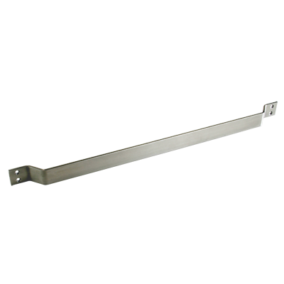 CE-835 Cart Bar - Gull Wing Stainless Steel
