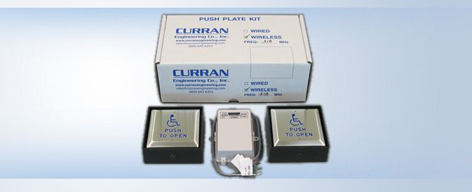 CE-KR635-318 4.5 inch Square Push Plate Kit Radio Controlled