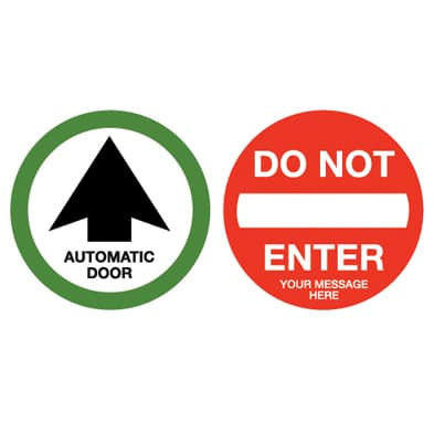 Merveilleux Decal For Automatic Door